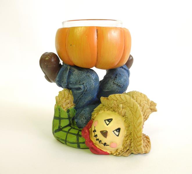 Scarecrow Dancing Tealight Holder