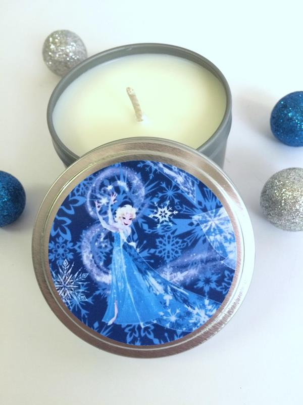The Snow Queen Candle Tin