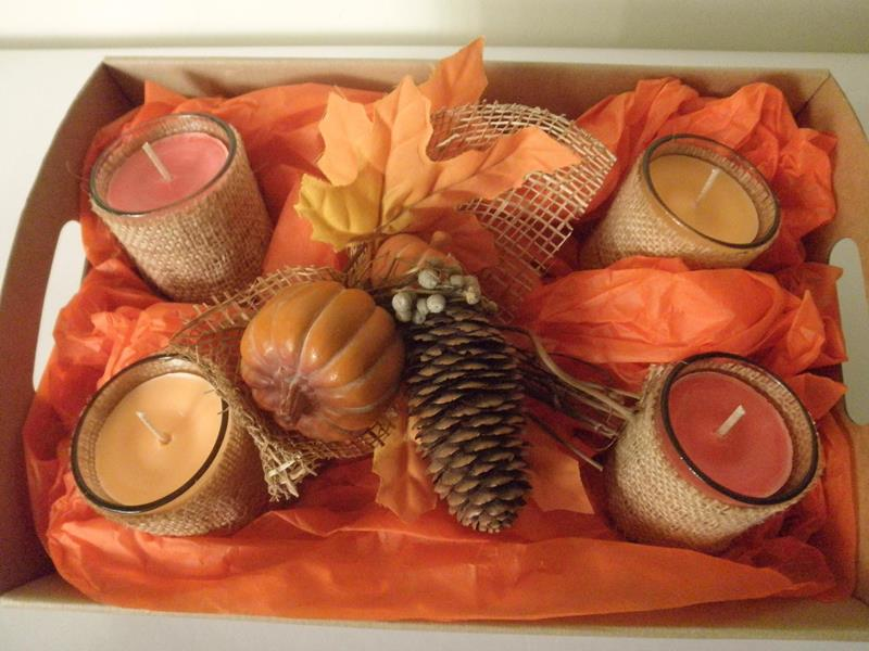 Autumn Candle Hamper